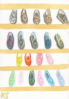 © Kate Schelter LLC 2020 | Belgian Shoes Multicolored by Kate Schelter