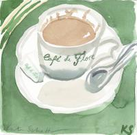 © Kate Schelter LLC 2020 | Cafe de Flore coffee by Kate Schelter