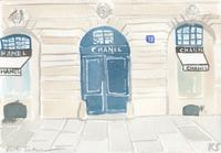 © Kate Schelter LLC 2020 | Chanel Place Vendome storefront 2 by Kate Schelter