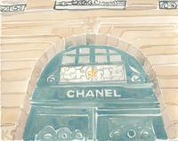 © Kate Schelter LLC 2020 | Chanel Place Vendome storefront 1 by Kate Schelter