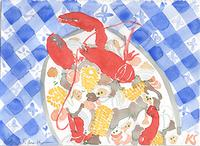 © Kate Schelter LLC 2019 | Clam Bake Lobster Corn by Kate Schelter