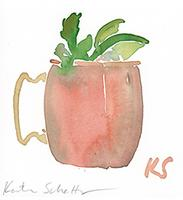 © Kate Schelter LLC 2020 | MOSCOW MULE by Kate Schelter