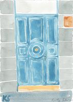 © Kate Schelter LLC 2018 | Paris Blue Door by Kate Schelter